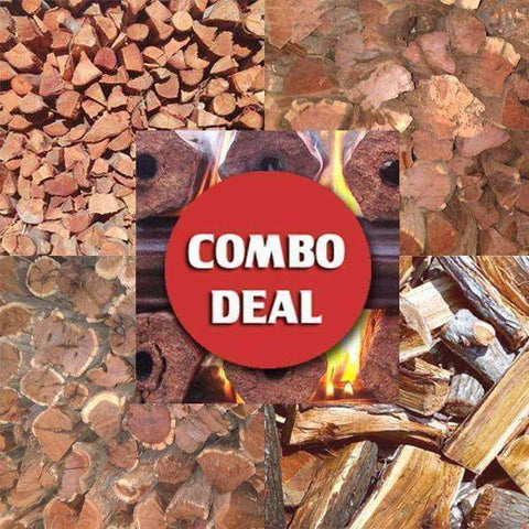 Combo - 'Big Chief' Braai Wood Deal (All-in-One) - Wood Monkeys
