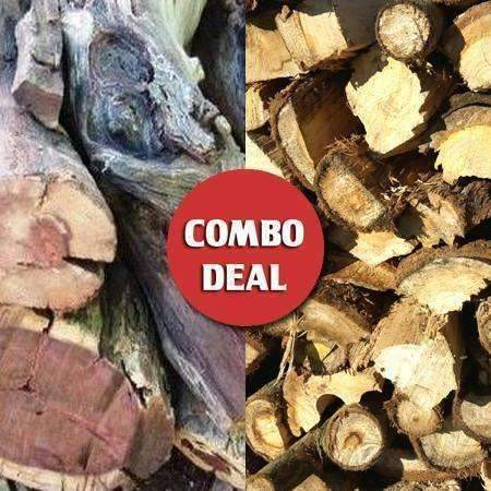Combo - Gum/Kameel Fireplace & Braai wood Deal - Wood Monkeys SA