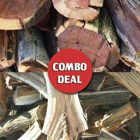 Combo - Krans/Kameel Braai wood Deal (Popular Mix) - Wood Monkeys SA