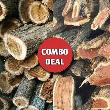 Combo - Sekel/Krans Ultimate Braai wood Deal (Hot!) - Wood Monkeys SA