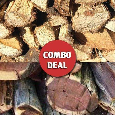 Combo - Wattle/Kameel Fireplace & Braai wood Deal - Wood Monkeys