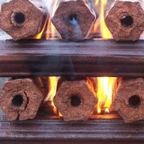 Eco Fire Logs Bulk - Order per 500 Logs / 175KG - Wood Monkeys