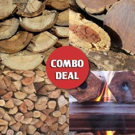 Combo - All-in-One Fireplace Value Deal (Popular Mix) - Wood Monkeys
