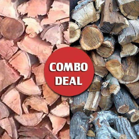 Combo - Gum/Krans Braai and Firewood Deal (Hot!) - Wood Monkeys