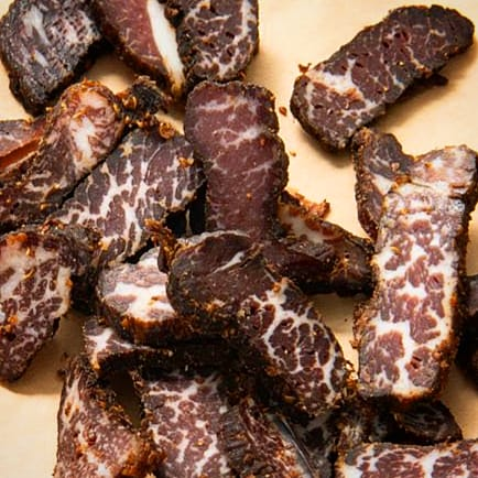 A-Grade Wagyu Beef Biltong - Order per 1KG or more (Sliced) - Wood Monkeys (5217297793158)