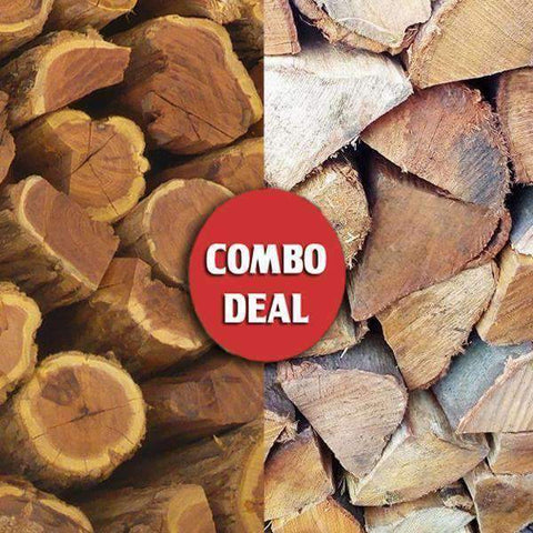 Combo - Sekel/Wattle Social Braai Wood Deal - Wood Monkeys SA