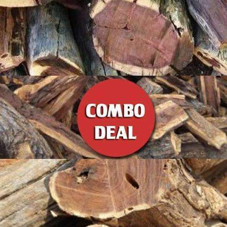 Combo - Triple Namibian Hardwood 540KG Deal (30x Bulk Bags) - Wood Monkeys SA