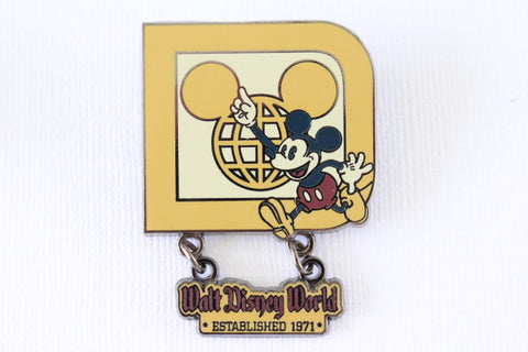 Walt Disney World - Retro Icon Dangle