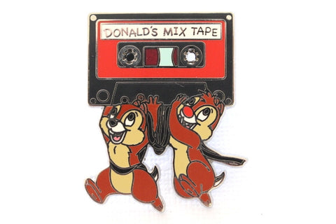 Chip and Dale with Donald's Cassette