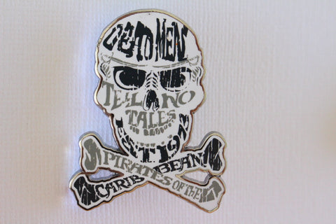 Pirate Skull - Dead Mean Tell No Tales