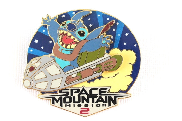 Stitch on Space Mountain
