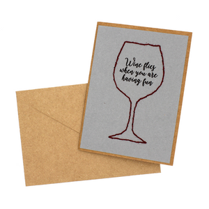 Wine Greeting Cards