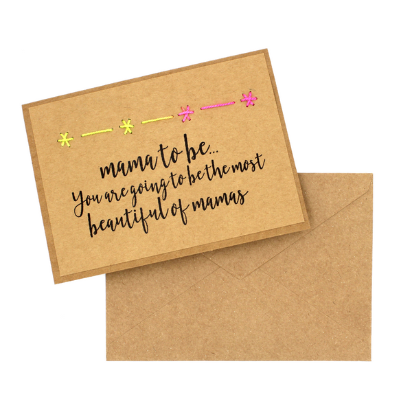 Mama to Be Greeting Cards