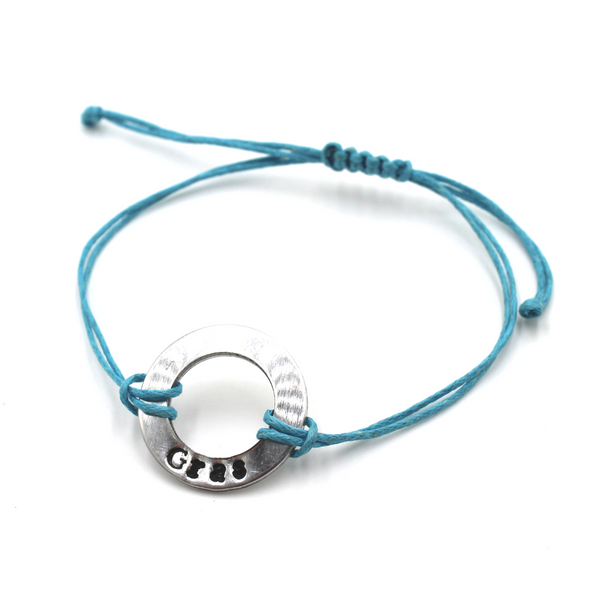 Small Washer Bracelet