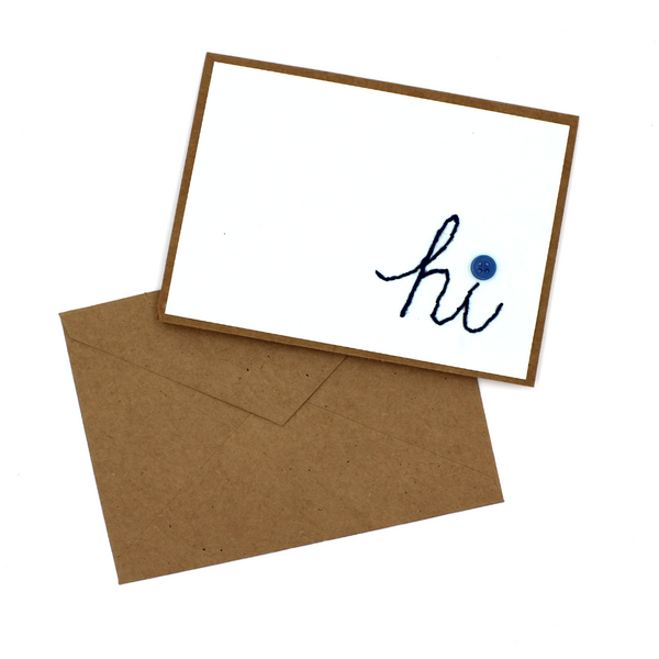 Hi Greeting Cards