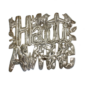 Haiti Awake Metal Art