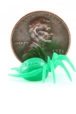 Small Green Spider