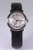 Tintin Self Winding Watch Black Strap