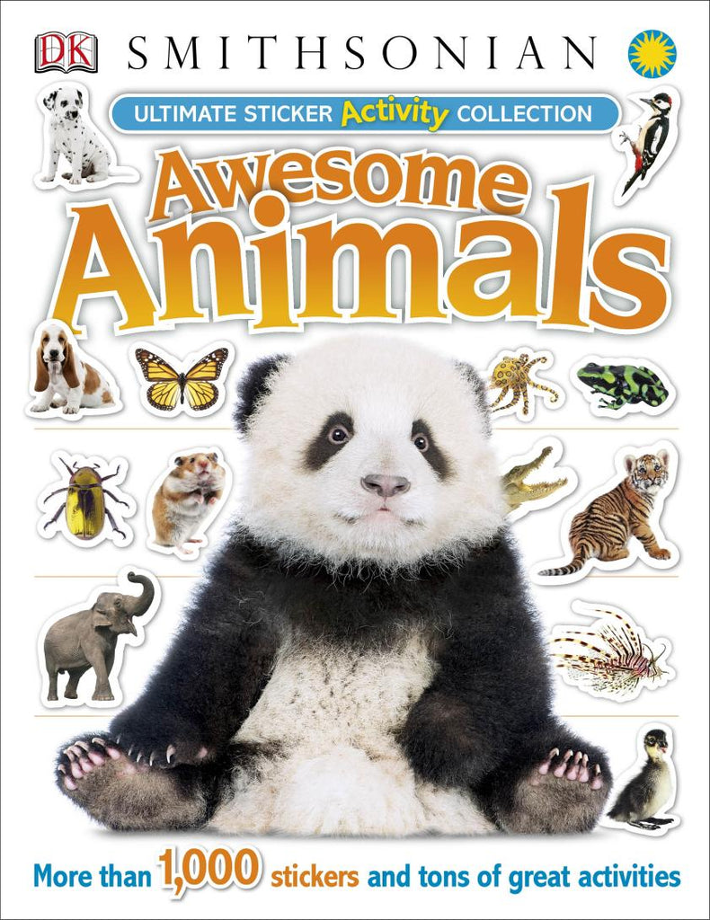 Ultimate Smithsonian Awesome Animals Sticker Book