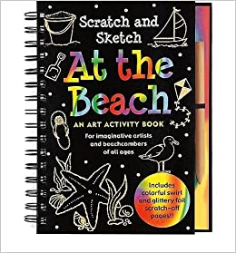 Scratch and Sketch: At the Beach