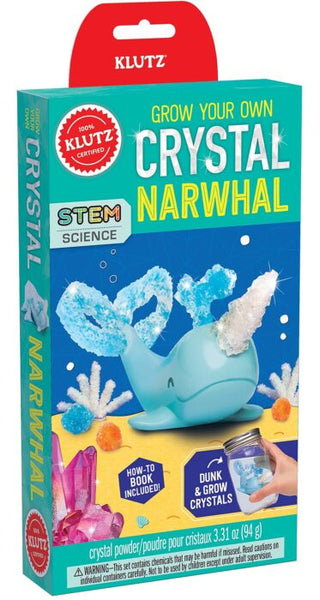 KLUTZ Grow You Own Crystal Narwhal