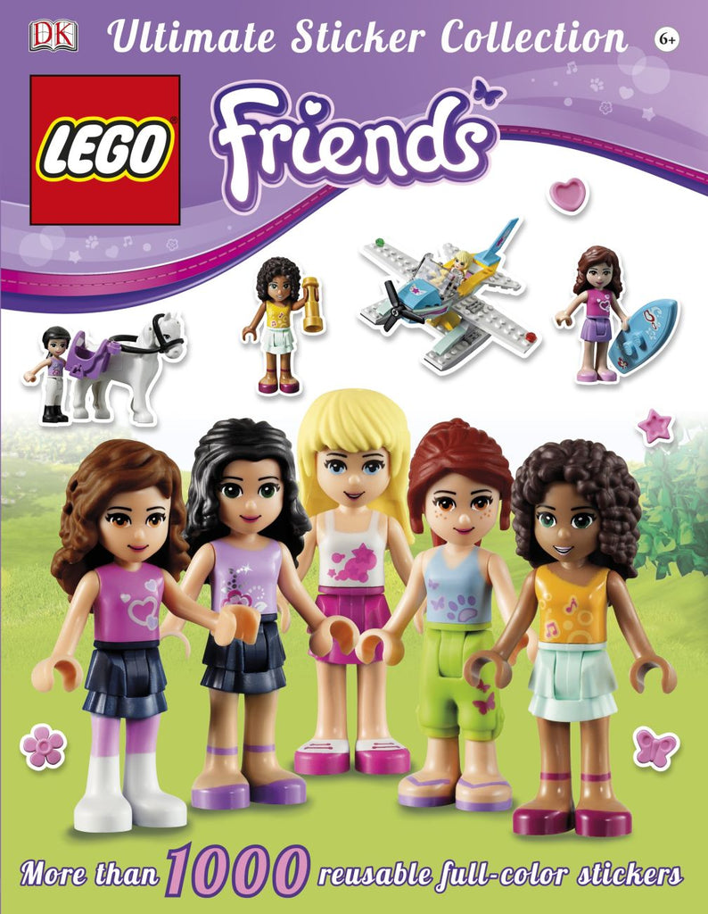 Ultimate Lego Friends Sticker Book