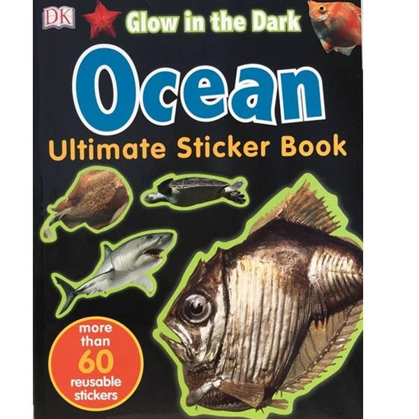 Ultimate Ocean Glow in the Dark Sticker Book