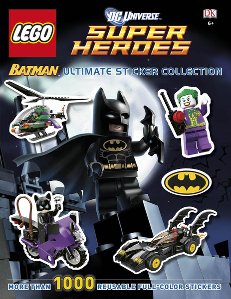Ultimate DC Batman Lego Sticker Book