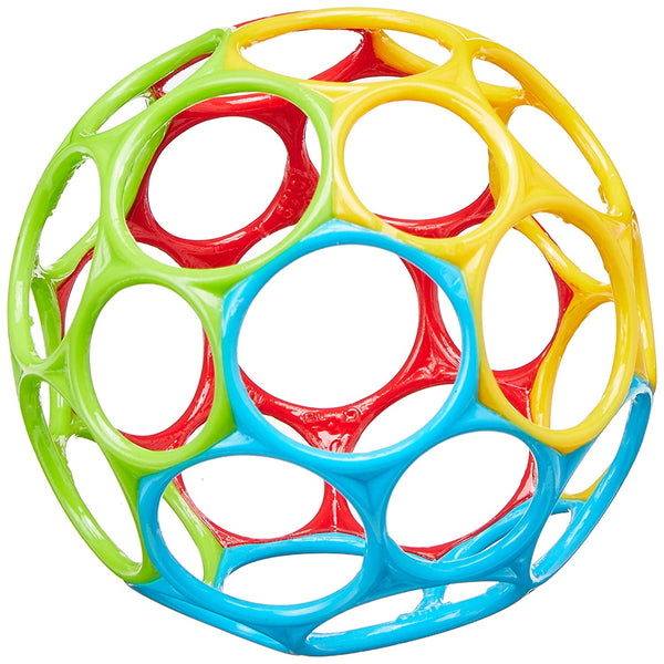 Bright Starts Oball Classic Ball Red, Yellow, Green, Blue 4""