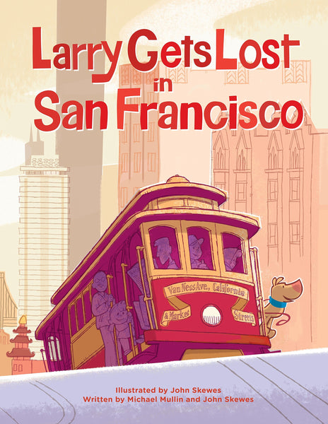 Larry Gets Lost in San Francisco Book