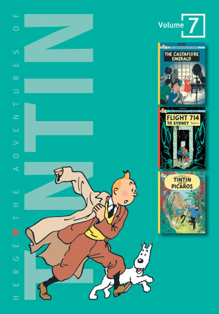 The Adventures of Tintin Volume Seven