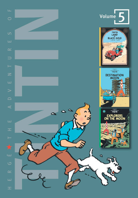 The Adventures of Tintin Volume Five
