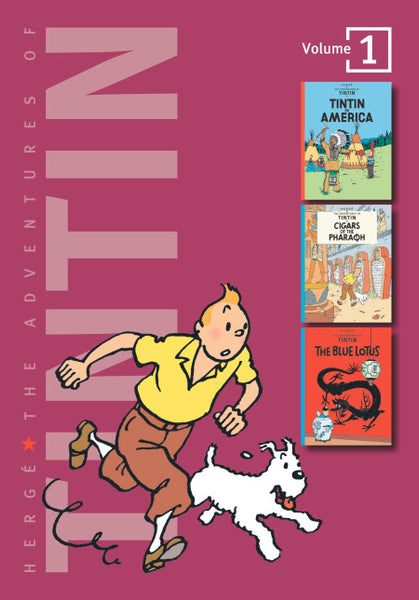 The Adventures of Tintin Volume One