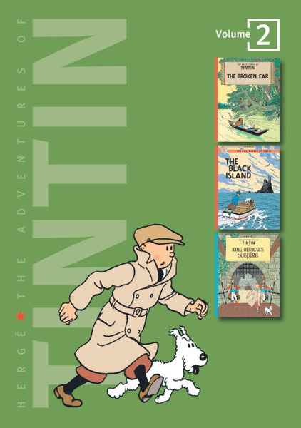 The Adventures of Tintin Volume Two