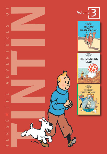 The Adventures of Tintin Volume Three
