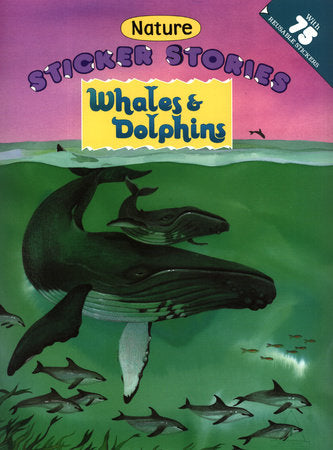 Whales and Dolphins Nature Sticker Stories