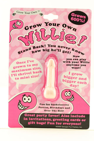 Grow Your Own Willie