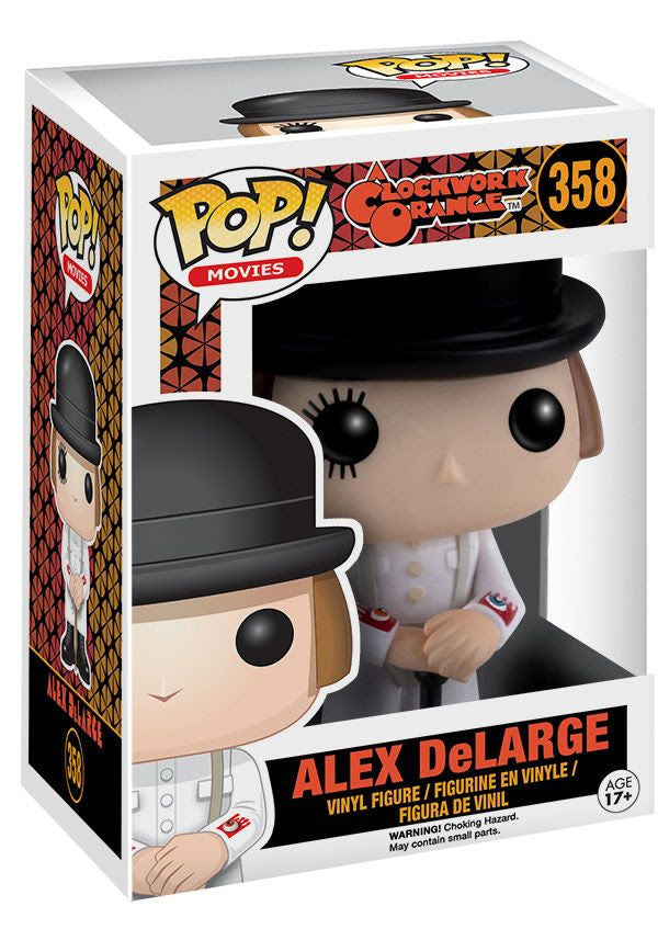 Funko Pop Movies, A Clockwork Orange, Alex DeLarge #358