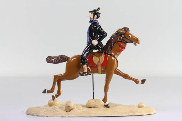 Captain Haddock on Horse Lead Figure From Red Sea Sharks