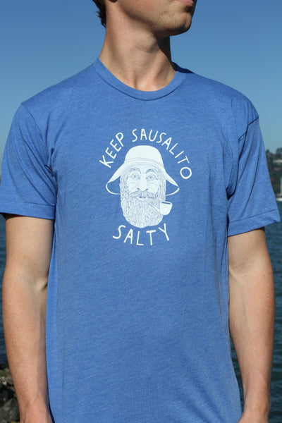 Blue Keep Sausalito Salty Tee