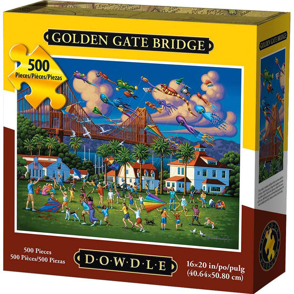 Dowdle Golden Gate Bridge Puzzle 500 pieces
