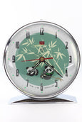Diamond Shanghai Windup Nodding Panda Clock