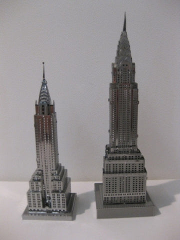 ICONX Empire State Building Metal Model Kit