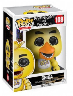 Funko Pop Games, Five Nights At Freddy's, Chica #108