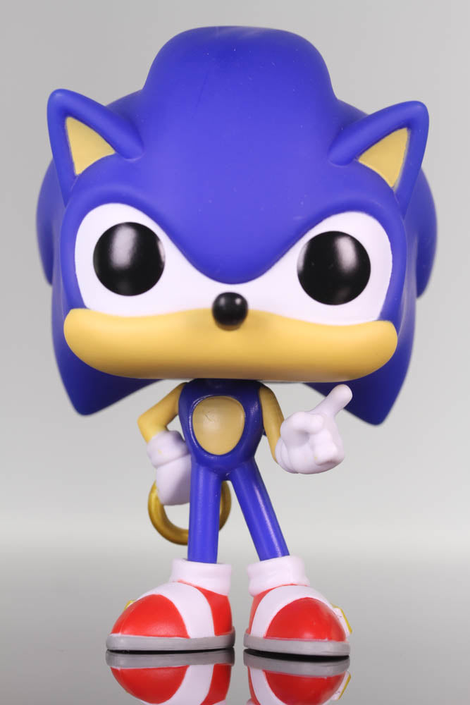 Funko Pop Games, Sonic the Hedgehog, Sonic with Ring #283