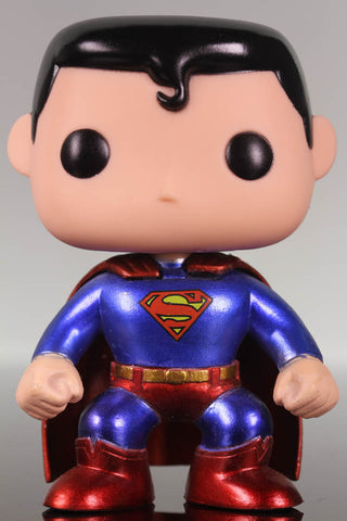 Funko Pop Heroes, DC Universe, Superman #07 Chase Limited Edition