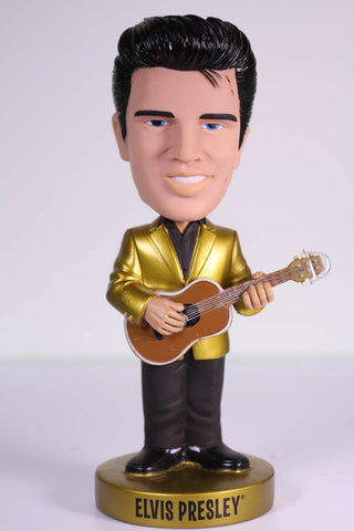 Funko Wacky Wobbler Bobble Head, Elvis Gold Jacket