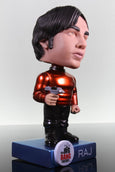 Funko Wacky Wobbler Bobble Head, The Big Bang Theory, Raj Star Trek Metallic Chase