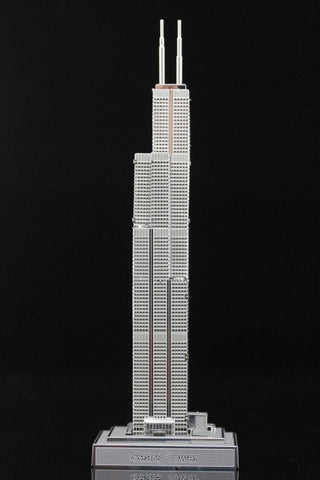 ICONX Sears Tower Metal Model Kit