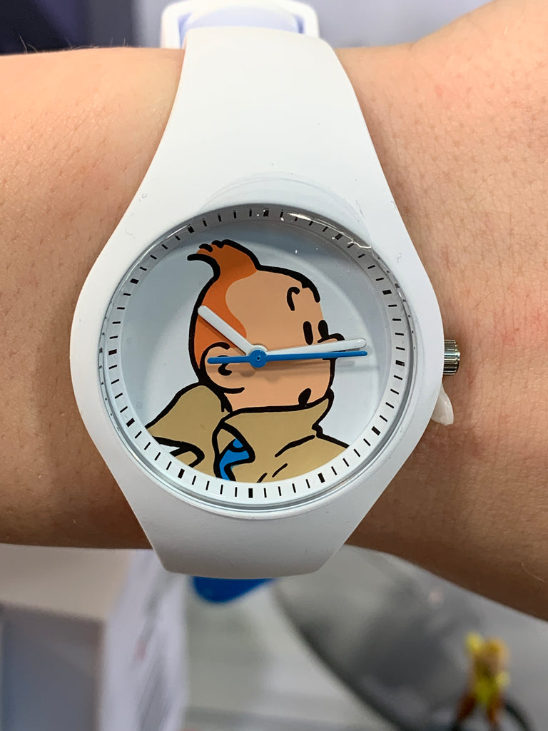 Tintin Watch, Characters, Tintin, White Small